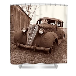 Old And Forgotten Shower Curtain by Judy Whitton