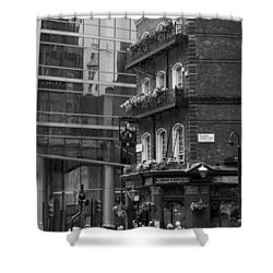 Shower Curtain featuring the photograph Old And New by Chevy Fleet