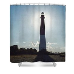 Old Barney Sundown 3 Shower Curtain by Marianne Campolongo