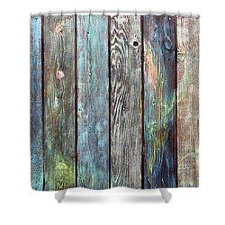 Old Barnyard Gate Shower Curtain by Asha Carolyn Young