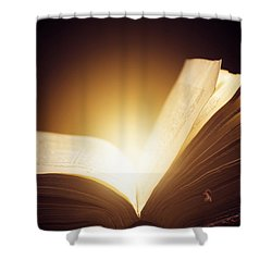 Old Book Shower Curtain