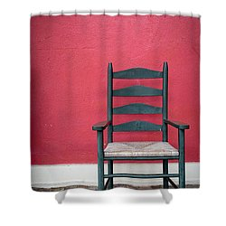 Restful Spot Cornish New Hampshire Shower Curtain by Edward Fielding