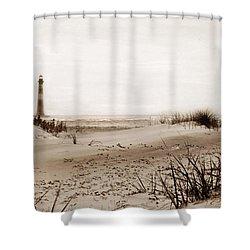 Old Charleston Harbor Shower Curtain by Skip Willits