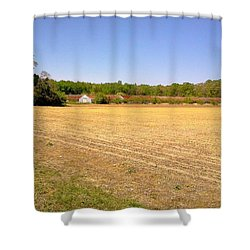 Old Chicken Houses Shower Curtain by Amazing Photographs AKA Christian Wilson