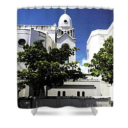 Old Church Shower Curtain
