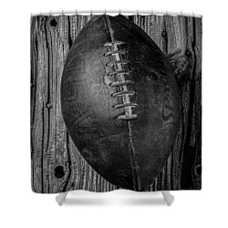 Wonderful Old Football Shower Curtain