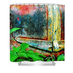 Old Ford #1 Shower Curtain