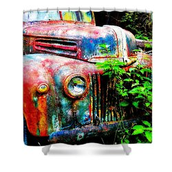 Old Ford #2 Shower Curtain