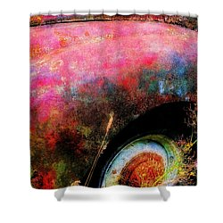 Old Ford #3 Shower Curtain
