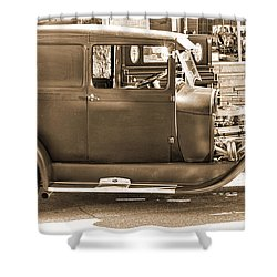 Old Ford Shower Curtain by Cathy Anderson