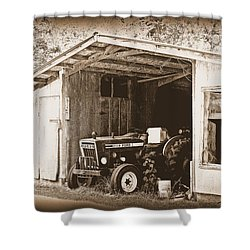 Shower Curtain featuring the photograph Old Ford by Faith Williams