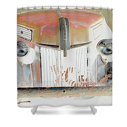 Old Ford Truck - Photopower Shower Curtain by Pamela Critchlow
