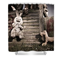 Shower Curtain featuring the photograph Old Friends by Priya Ghose