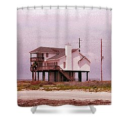 Old Galveston Shower Curtain