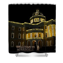 Old Harrison County Courthouse Shower Curtain
