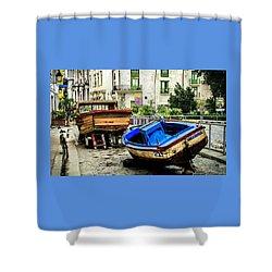 Old Havana Shower Curtain by Karen Wiles