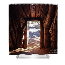Old Hogan Shower Curtain