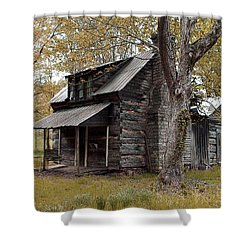 Old Home Place Shower Curtain
