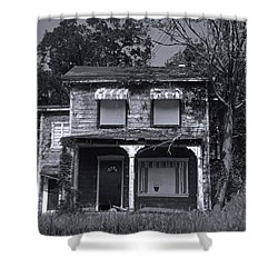 Old House 1 Shower Curtain by Joyce  Wasser