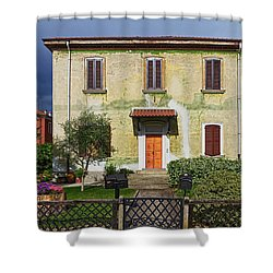 Old House In Crespi D'adda Shower Curtain