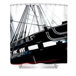 Old Ironsides Shower Curtain