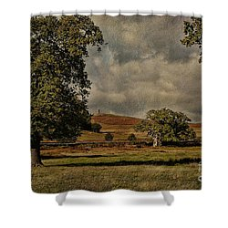 Old John Bradgate Park Leicestershire Shower Curtain by John Edwards