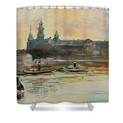 Old Krakow Shower Curtain