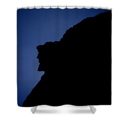 Old Man Of The Mountain - Franconia Notch State Park New Hampshire Shower Curtain