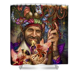 Old Man Of The Woods Shower Curtain by Ciro Marchetti
