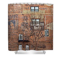 Old Market - Omaha - Metz Building - #1 Shower Curtain
