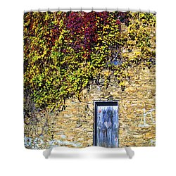 Old Mill Door Shower Curtain by Paul W Faust -  Impressions of Light