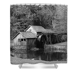Virginia's Old Mill Shower Curtain