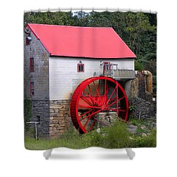 Shower Curtain featuring the photograph Old Mill Of Guilford by Sandi OReilly