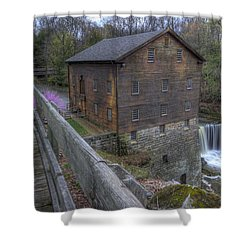 Old Mill Of Idora Park Shower Curtain