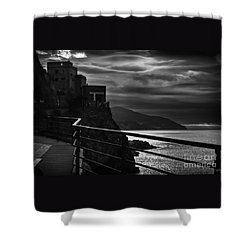 Old Monterosso Shower Curtain