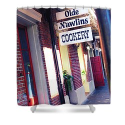 Shower Curtain featuring the photograph Old Nawlins by Erika Weber