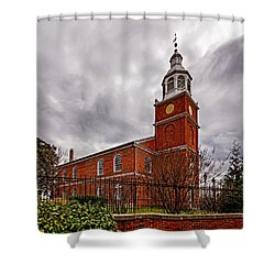 Old Otterbein Country Church Shower Curtain