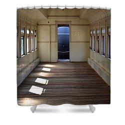 Old Passenger Car 2 Shower Curtain