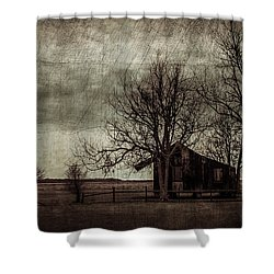 Old Plantation Shower Curtain by Perry Webster