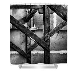 Old Rafters Shower Curtain