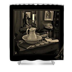 Old Reflections Shower Curtain