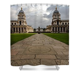 Old Royal Naval College Shower Curtain