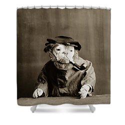 Old Sailor Circa 1905 Shower Curtain