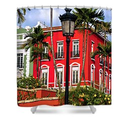 Shower Curtain featuring the photograph Old San Juan 1 by Mitch Cat
