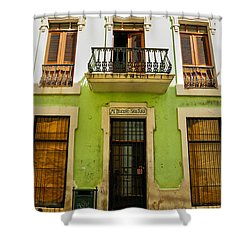 Shower Curtain featuring the photograph Old San Juan 2 by Mitch Cat