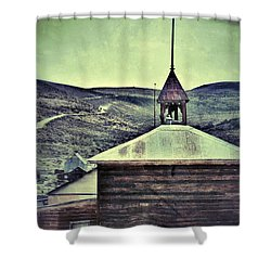 Old Schoolhouse Shower Curtain by Jill Battaglia