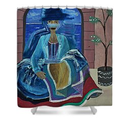 Old Soul Shower Curtain by Barbara St Jean