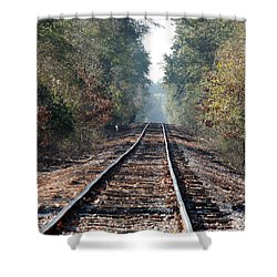 Old Southern Tracks Shower Curtain