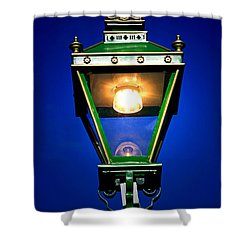 Shower Curtain featuring the photograph Old Streetlamp by Craig B