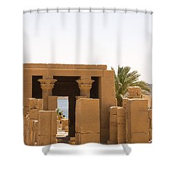 Old Structure 2 Shower Curtain by James Gay